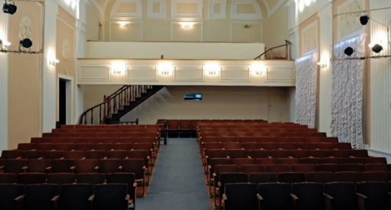 Зрительный зал Новосибирский классический театр
